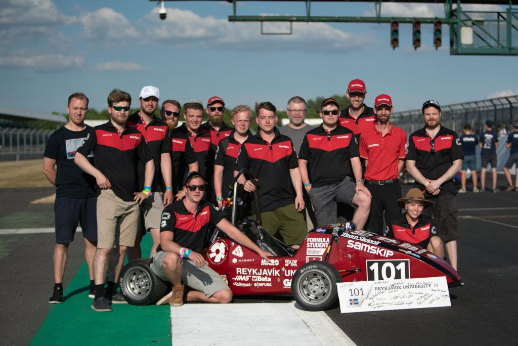 RU Racing Team Photo