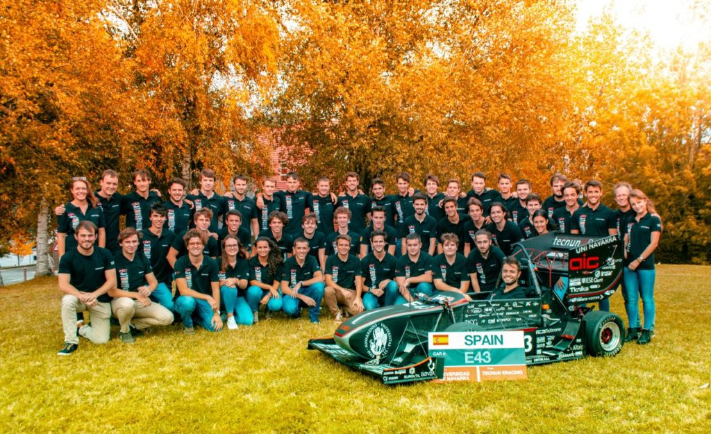 Tecnun eRacing Team Photo