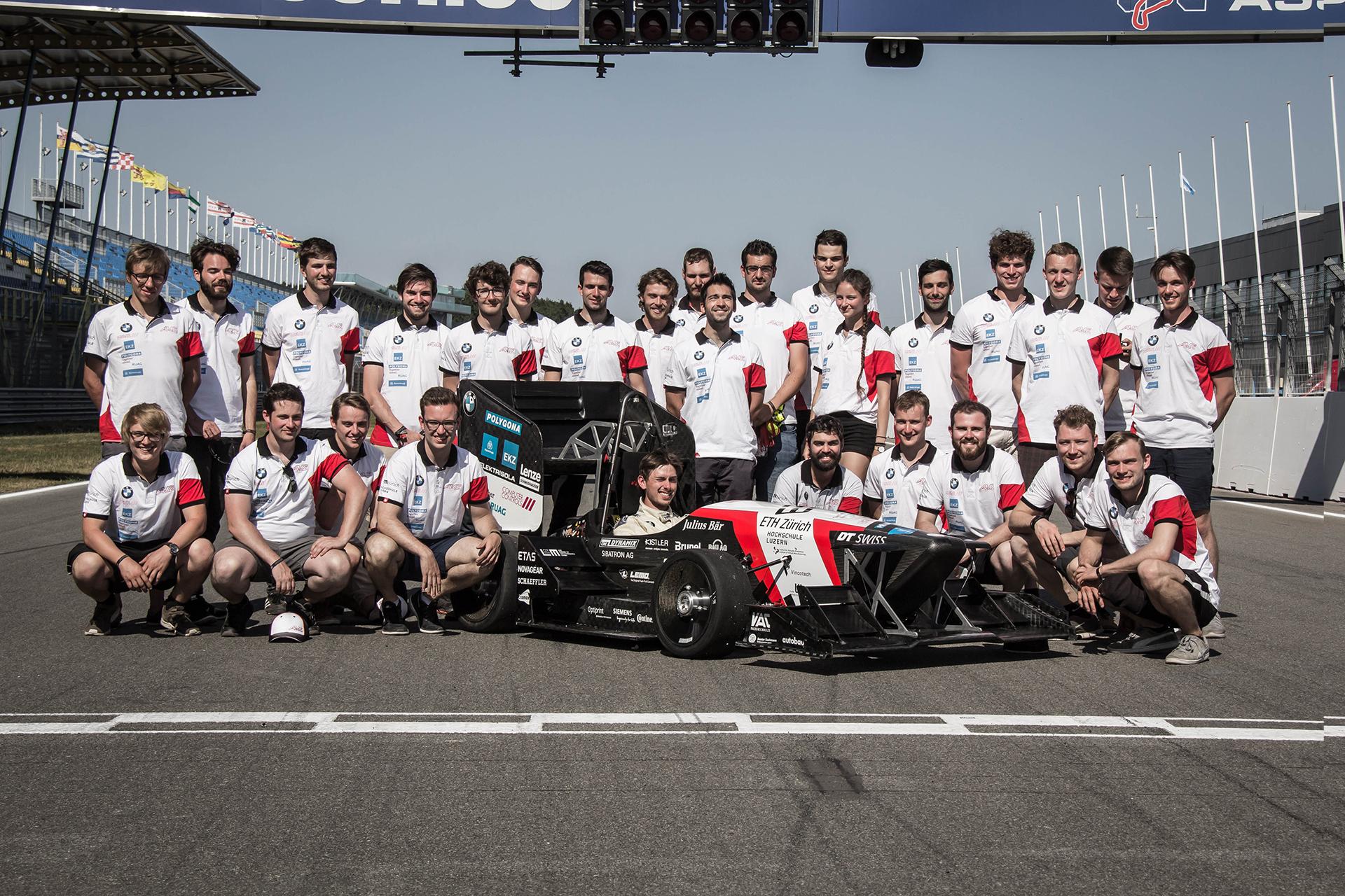 Amz Racing Team Photo