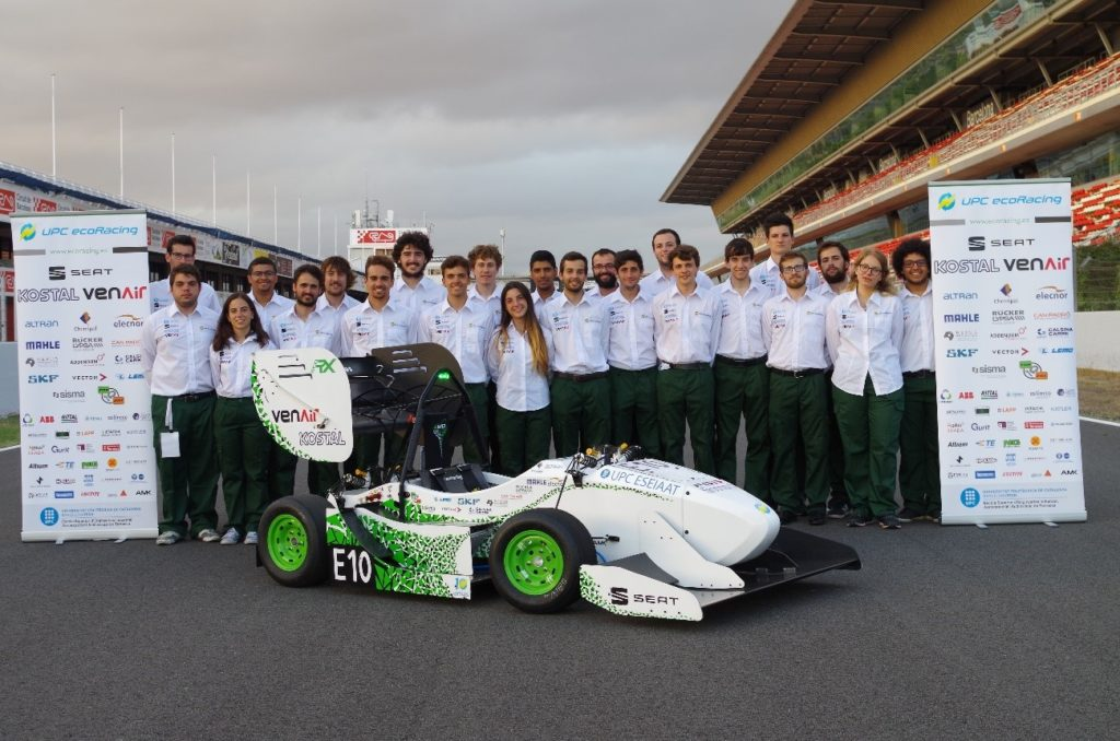 UPC ecoRacing Team Photo