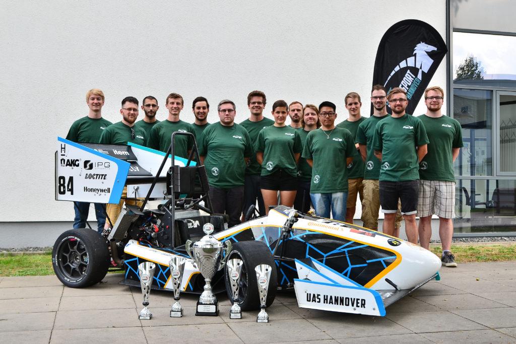 Campus Motorsport Hannover Team Photo