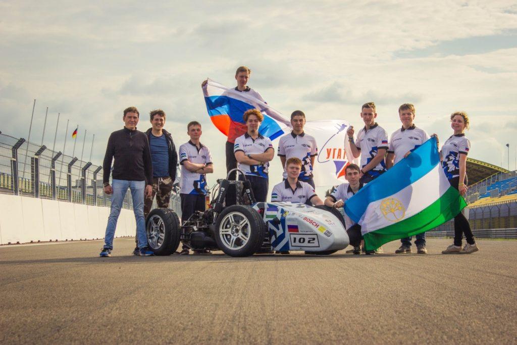 UGATU Racing Team Photo